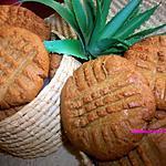 recette BISCUITS au BEURRE d'ARACHIDE