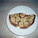recette tartelette aux bananes et caramel au beurre salé