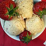 recette glace à la fraise sans sorbetière
