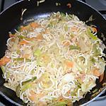 recette wok de légumes aux nouilles chinoise