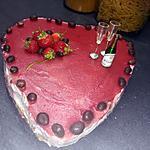 recette Bavarois au mascarpone fraise