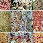 recette Tagliatelles gratinées, au jambon, sauce aux tomates, crème béchamel