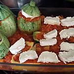 recette Courgettes farcies au chèvre