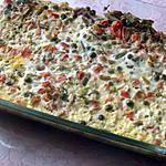 recette Flan aux petits légumes et au thon