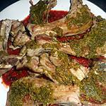 recette Cotes d agneau aux pistaches