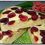 recette Moelleux à la cerise et aux amandes