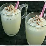recette Milkshake à la vanille