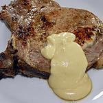 recette Côte de porc sauce mascarpone-moutarde