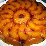 recette GÂTEAU à l'Amande et Ananas Caramélisé à la Vanille de Bourbon