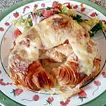 recette Croissant jambon-fromage
