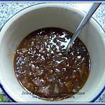recette Sauce aux échalotes au vinaigre balsamique