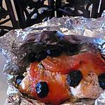 recette PAPILOTTE DE SAUMON AUX OLIVES