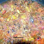 recette salade d'aubergine et poivrons