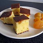recette Petits pavés au chocolat blanc et aux abricots secs