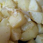 recette pommes  de terre sautées au cumin.....
