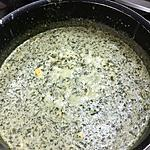 recette Oseille en béchamel et oeufs durs