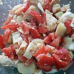 recette Salade de pommes de terre / tomates