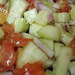 recette salade de concombre trés fraiche ( pour cuibonois.....!)
