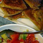 recette Brick de Thon avec de salade