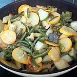 recette Poêlee de légumes bio
