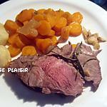 recette Petit gigot d'agneau, purée d'ail