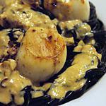 recette St Jacques sauce corail