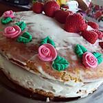 recette Naked cake mascarpone fraise