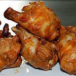 recette Pilons de poulet épicés au miel