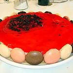 GATEAU AU MASCARPONE ET AUX FRUITS ROUGES