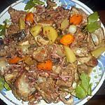 recette Ragout de porc à la paysanne