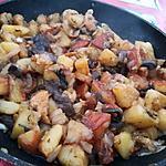 recette Poêlée de pommes de terre sautés aux cèpes