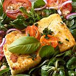 recette Salade de serac poêlé, un plat en 10min!..