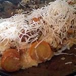 recette Omelette aux courgettes du jardin