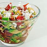 recette Verrine d'avocat et de tomate