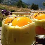 recette Crème pâtissière  pistache et abricots