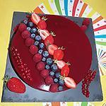 recette Bavarois aux fruits rouges