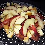 recette Salade tomates brugnons