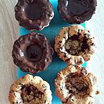 recette Cookies tartelette double chocolat