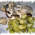 recette filet de boeuf aux morilles et pommes de terre nouvelles sautées