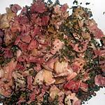 recette Salade de lentilles au jarret de porc demi sel