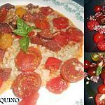 recette RISOTTO A L'ARLEQUINO