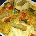 recette Tortellinis en gratins du blog cccuisine.over-blog.com