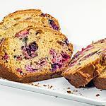 recette Cake facile aux fruits rouges