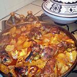 recette poulet pomme de terre au four