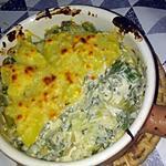 recette Gratin d'asperge et de crème de soja