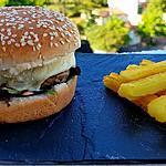 recette Hamburger au saint Marcellin