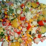 recette Salade hawaienne