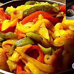 recette Poivrons grillés au four