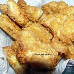 recette poulet croquant au fromage