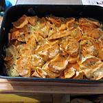 recette Gratin de patate douce